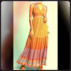 Tanvi  Kedia Anthropology maxi dress. 🥰